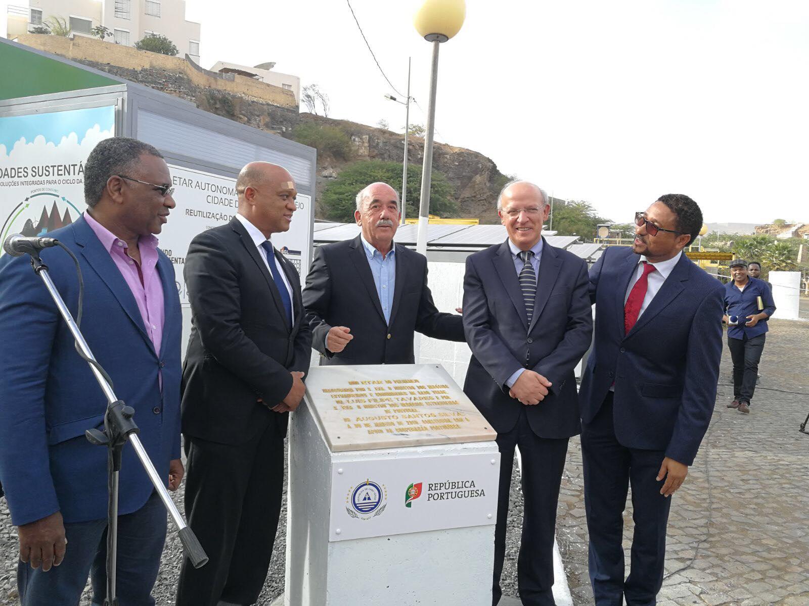 Ministros de Portugal e Cabo Verde