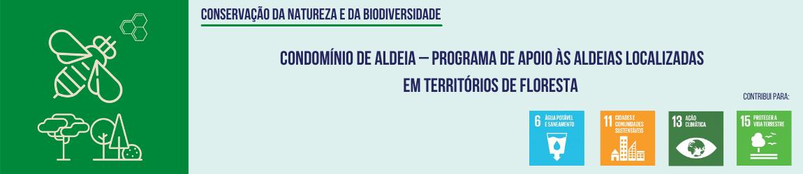 Condomínio de Aldeia – Programa de apoio às aldeias localizadas em territórios de floresta